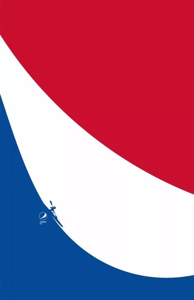 海报设计案例赏析  可乐巨头都是怎么做海报的