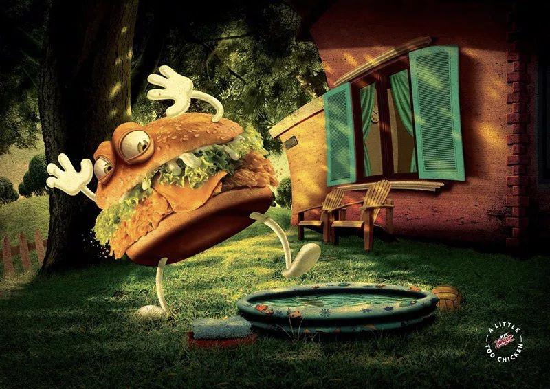 海报设计案例赏析  快餐巨头肯德基是怎么做海报的