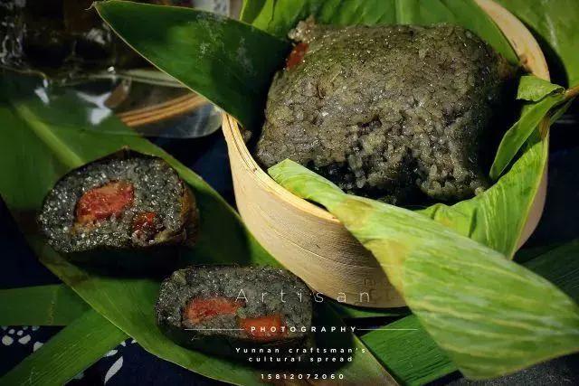端午明信片设计图片赏析 美味粽子的艺术实拍