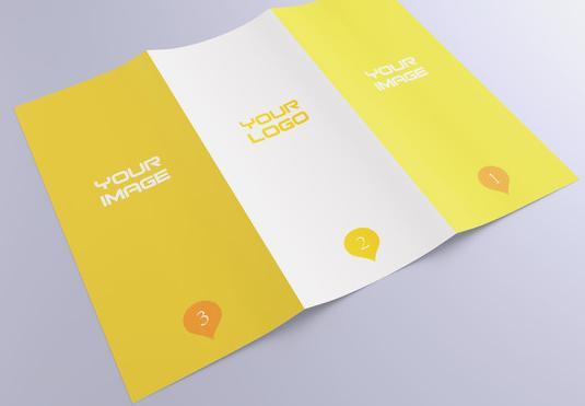 创意美食折页设计类型分享 玩转美食折页花样