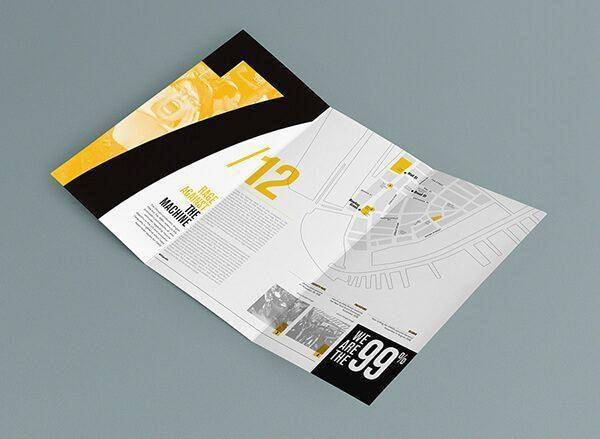 美食折页设计布局方法分享 美食折页设计怎么布局