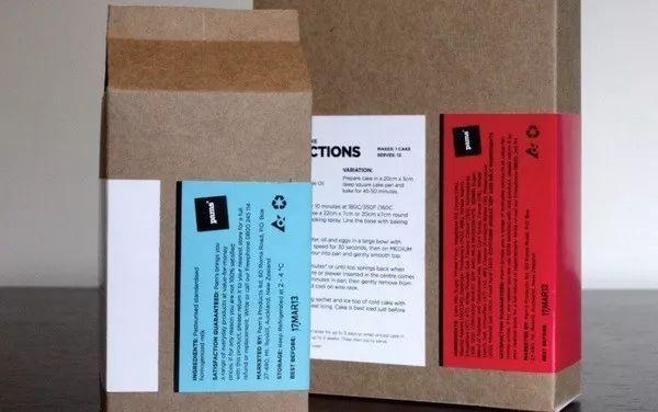 不干胶设计案例分享 冲着包装去买东西的魅力