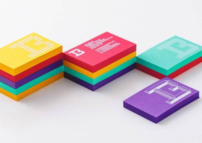 高档社交名片设计工艺分享 选对工艺方式很关键