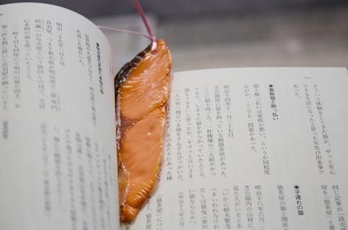 食物形状卡通书签设计 看着书饿了怎么办