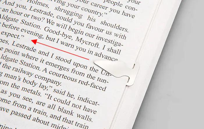 金属书签设计欣赏 书签就是要好看又不易丢