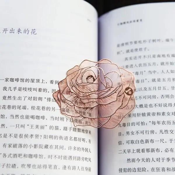 文化书签设计图片欣赏 赏心悦目的配角