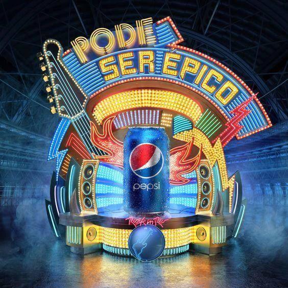 海报设计案例分享 百事可乐的海报值得一看