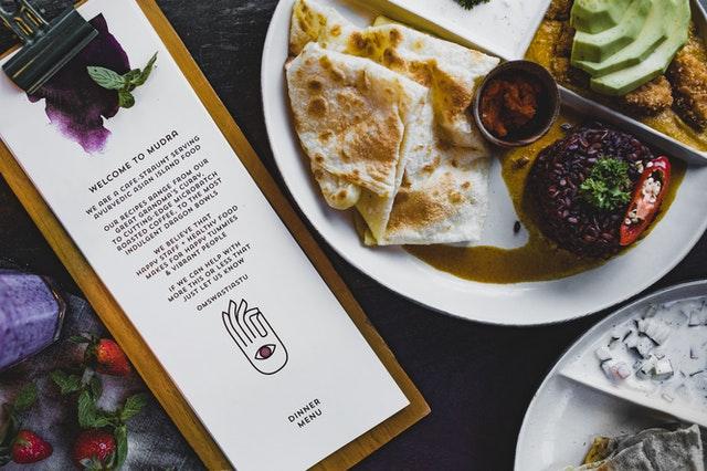 西餐厅菜单设计字体也有讲究 字体如何润色菜单设计