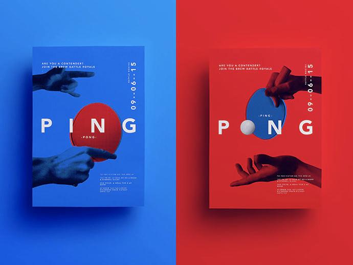 海报设计教程  优秀的海报设计如何运用文字