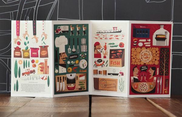 餐厅菜单设计小技巧 三个技巧让你的菜单更完美
