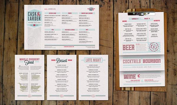 西餐厅菜单设计技巧分享 提升菜单质量的三个技巧