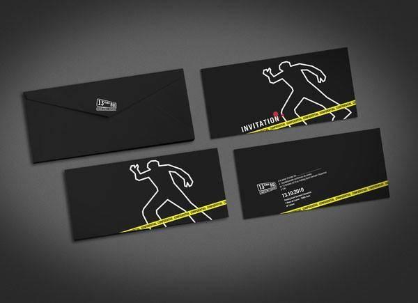 创意邀请卡设计分享 一起来看看这些别具匠心的创意吧
