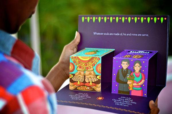 婚宴邀请卡设计作品分享 精美好看的邀请卡都在这里