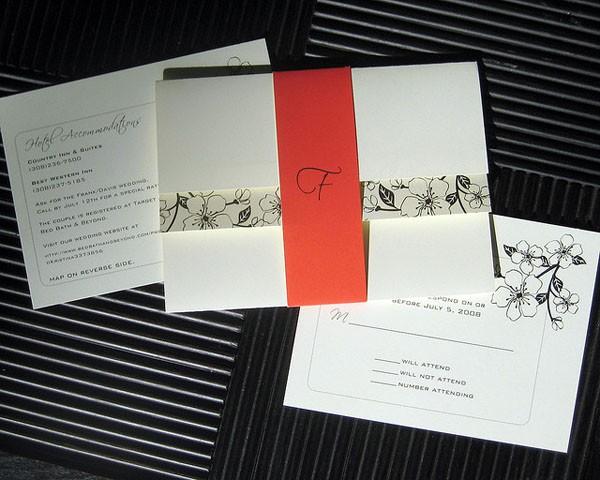 婚宴邀请卡设计内容分享 写对称呼才不会出洋相