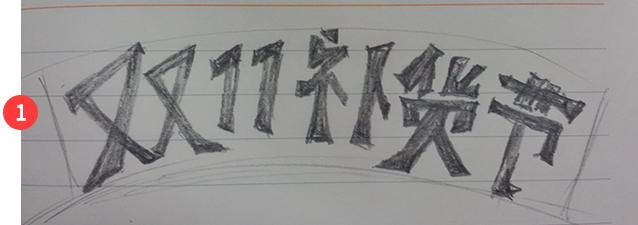 网页banner设计字体变形 让你的banner变得丰富灵活