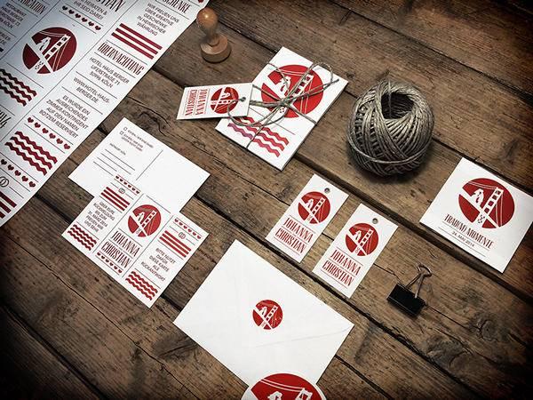 婚宴邀请卡设计分享 手写一份充满爱意的邀请卡吧