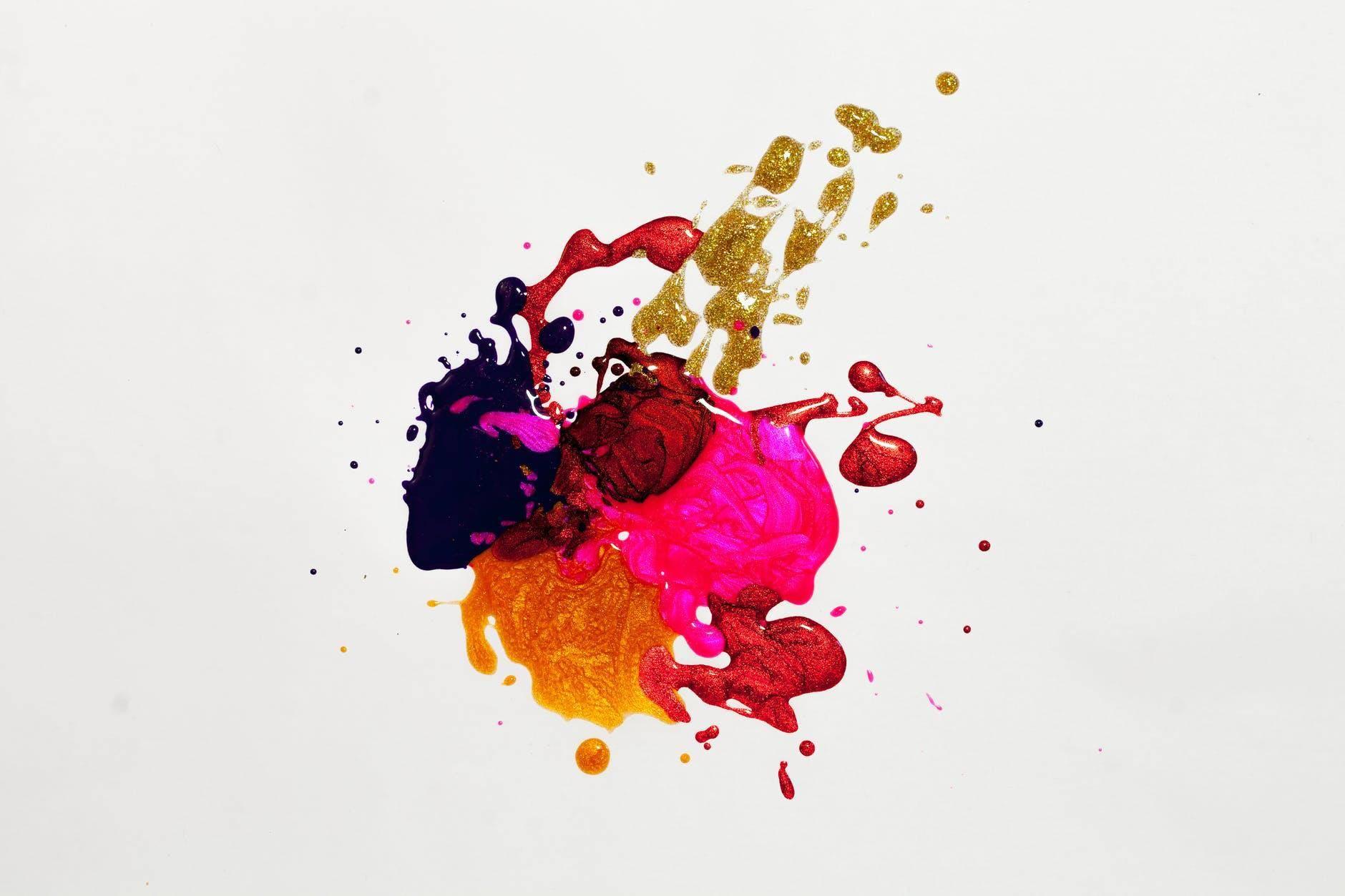 工作证设计配色分享 用这些颜色做出来的工作证最好看