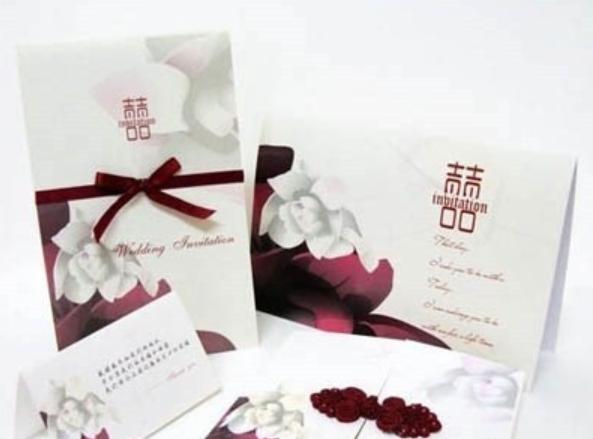 婚宴邀请卡设计分享 三款优雅大方的邀请卡随你选择