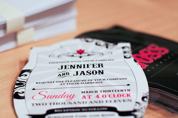 婚宴邀请卡设计分享 五款创意十足的邀请卡随你选择