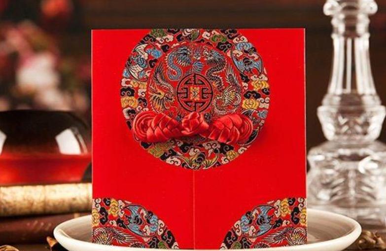 婚宴邀请卡设计款式分享 适合中式婚礼使用的精致邀请卡
