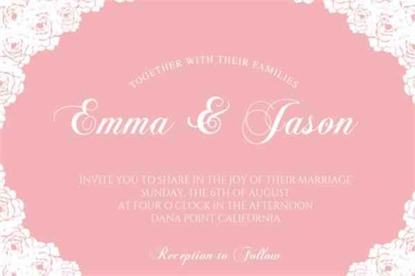 婚宴邀请卡设计模板分享 欧式婚礼用这些邀请卡最完美