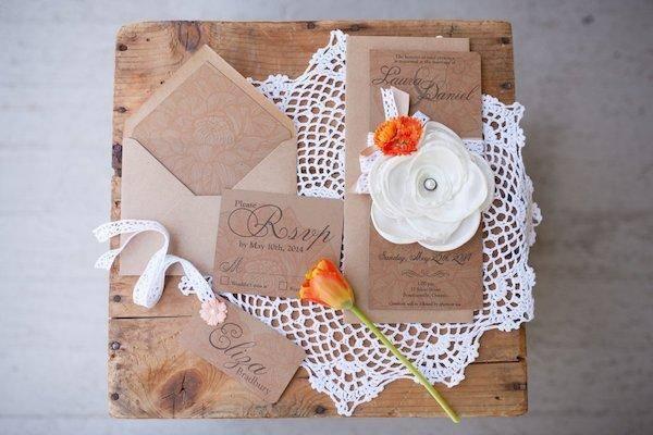 婚宴邀请卡设计模板分享 适合欧式婚礼使用的邀请卡