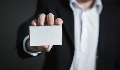 社交名片设计指导 你的名片也要做做减法