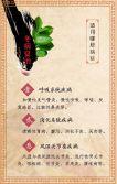 冬病夏治三伏贴中医宣传中国风风格