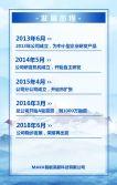 高端大气蓝色商务企业宣传公司简介产品介绍宣传画册通用H5模板