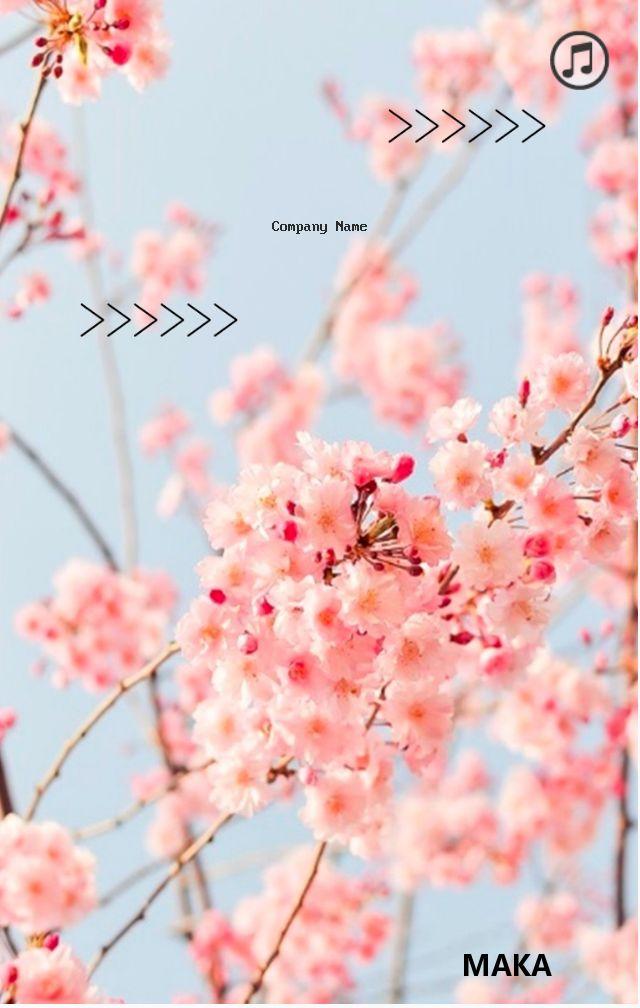企业介绍、产品宣传杂志小清新暖春风H5模板