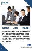 高端简约大气商务蓝公司企业宣传简介招商加盟产品IT