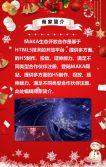 卡通圣诞节商家促销活动促销打折企业宣传电商促销产品介绍
