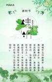 春季清明节踏青旅游通用宣传