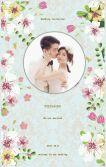 花卉婚礼邀请