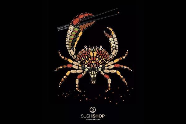 海报设计案例赏析  餐饮类海报怎么做才能吸引人