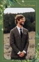 森系丛林自然简约别致个性婚礼电子请柬/电子邀请函