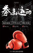 拳击/拳击俱乐部/武术/体育运动场馆招生宣传