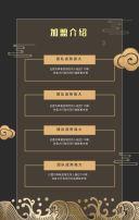 黑金高端峰会招商会产品发布会会议邀请函企业通用H5