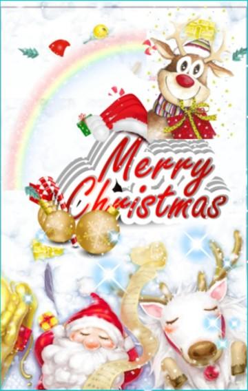 温馨唯美可爱浪漫圣诞祝福寄语贺卡