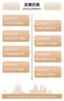 时尚高端商务金色企业宣传册公司宣传画册H5