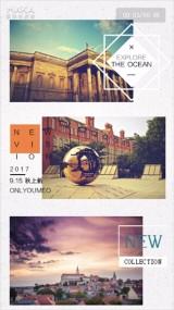 相册展示旅行日常纪念写真唯美文艺欧美风