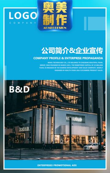 企业宣传公司简介企业简介公司宣传通用模板商务科技
