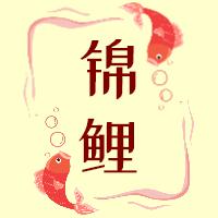红色卡通简约锦鲤抽奖福利活动互动分享发奖奖励颁奖微信公众号封面小图
