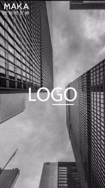 企业文化理念标语宣传短视频简约片头片尾|自在飞