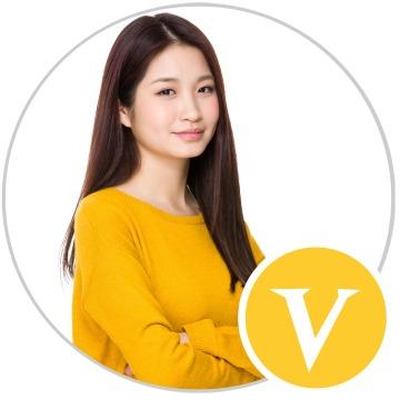 简约黄色大V萌趣挂件社交素材微信头像