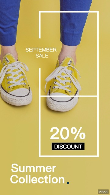 流行鞋子 青少年时尚鞋  促销海报