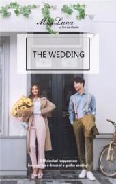 简约婚礼邀请函、北欧风格婚礼请柬、小清新婚礼