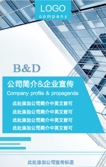 企业/公司/公司介绍/企业宣传/商务/高端/科技/适用于所有公司企业,通用模板