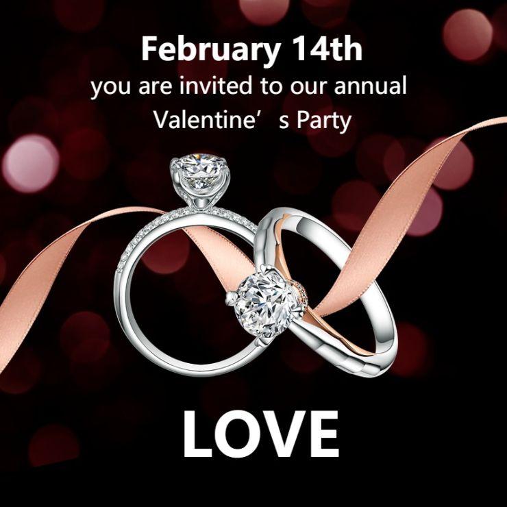 唯美浪漫消费制造奢侈品珠宝首饰戒指促销电商主图