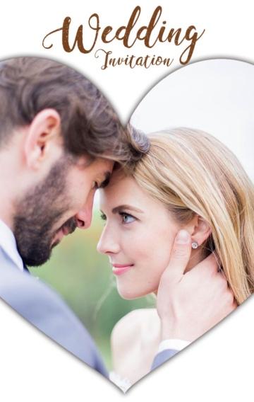法式浪漫小清新婚礼邀请函时尚杂志风高端唯美轻奢甜蜜电子请柬
